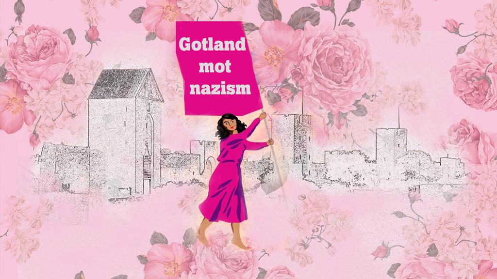 Bild: Peacemakers av Catharina Johansson Ek. Till salu till förmån för Gotland Solidaritet.