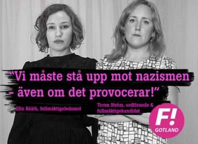 Vi måste stå upp mot nazismen, även om det provocerar